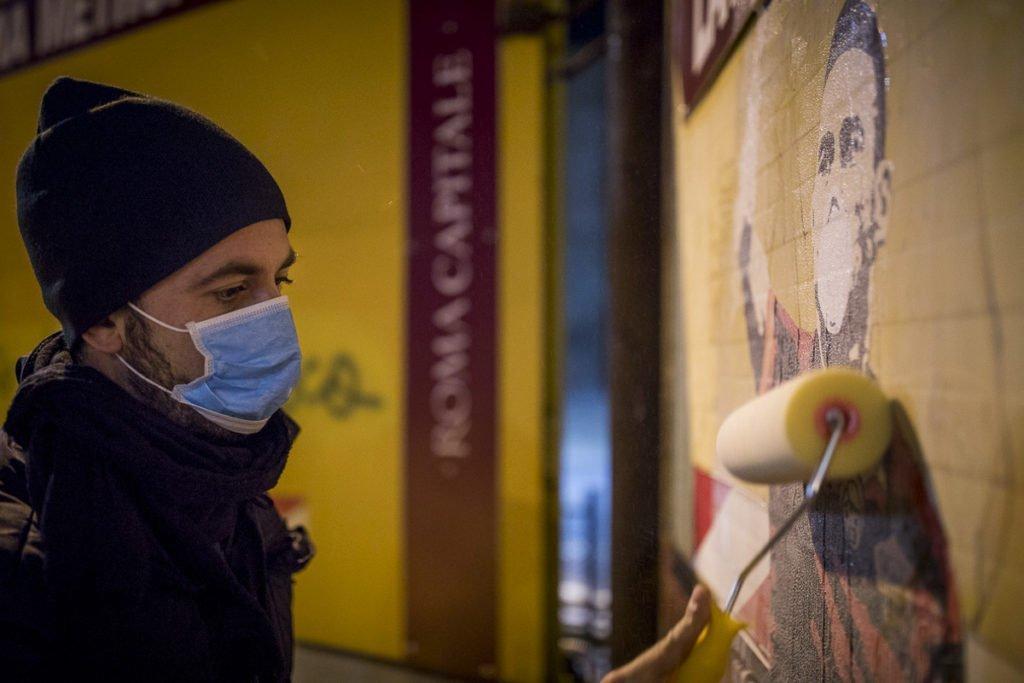 street art contro l'inquinamento - tboy