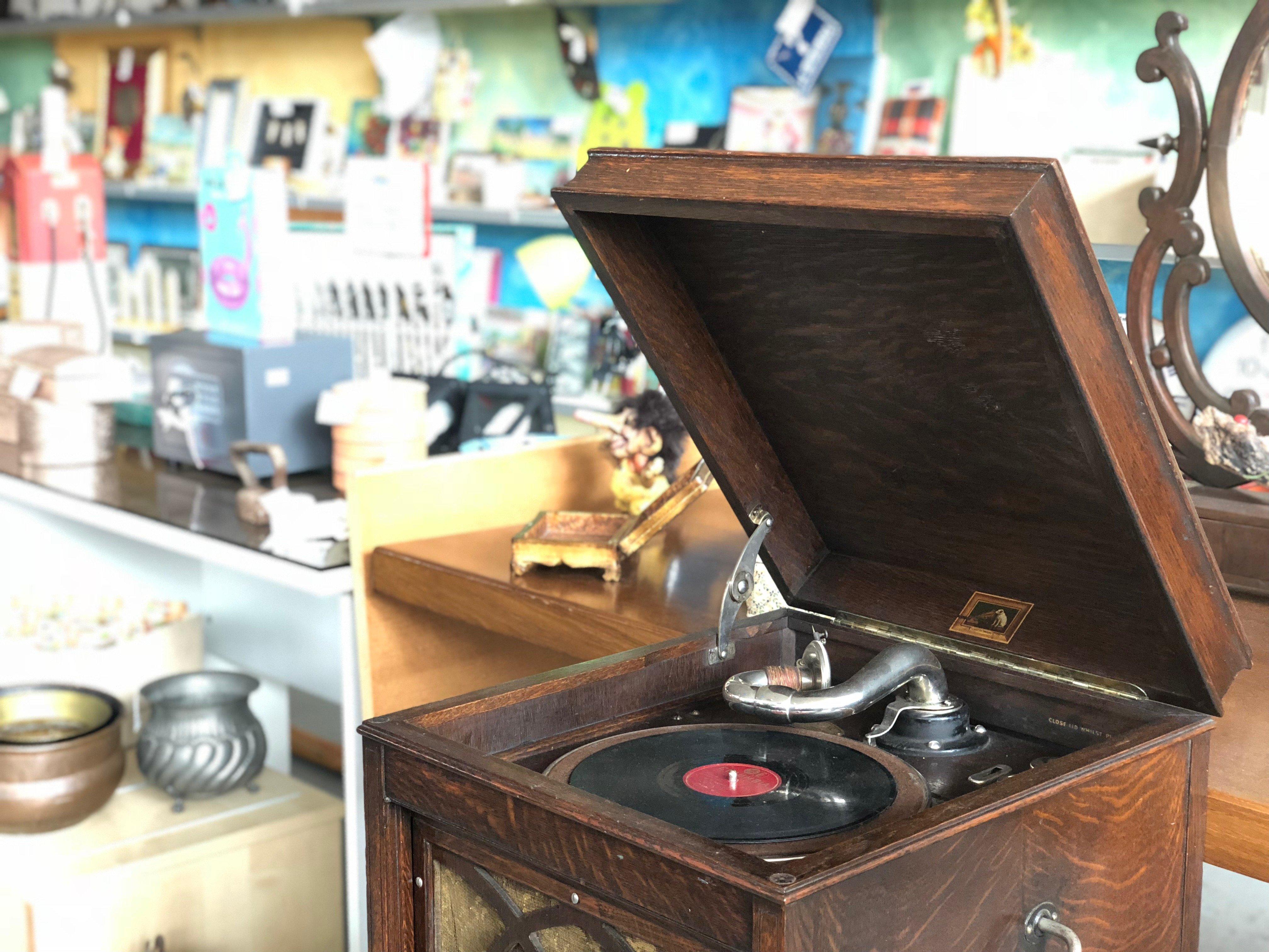 riuso grammofono mercatopoli