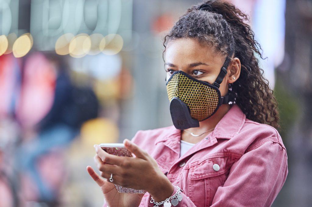 mascherina anti-smog iot