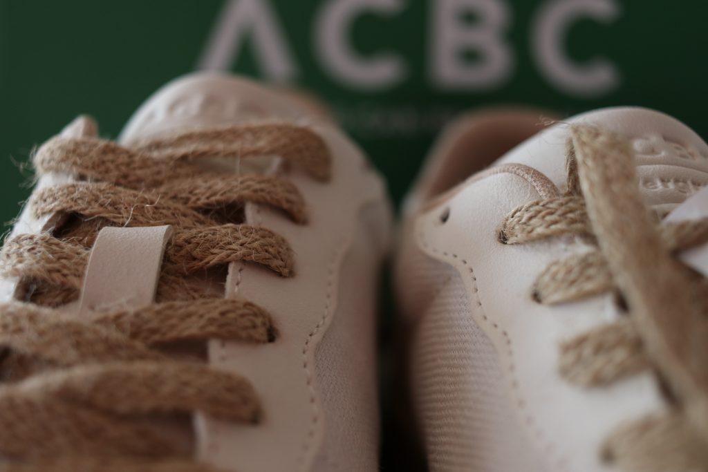scarpe sostenibili ACBC evergreen white
