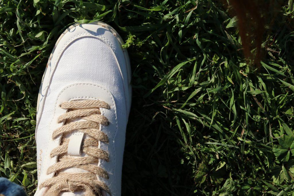 scarpe sostenibili ACBC bianche