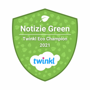 Twinkl badge blogger green