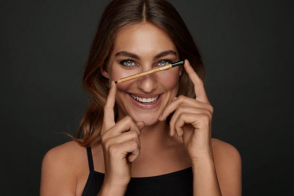 make up sostenibile matita occhi sprout eyeliner