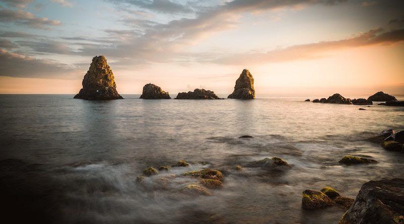 alba e tramonto mare