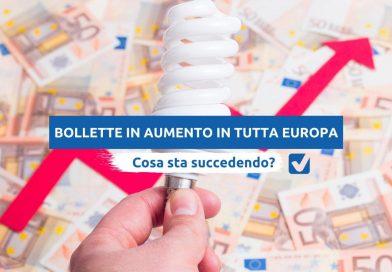 Confermato aumento bollette in Italia (luce +29,8% e gas + 14,4%), studio Selectra: stangate anche per Francia, Portogallo e Spagna