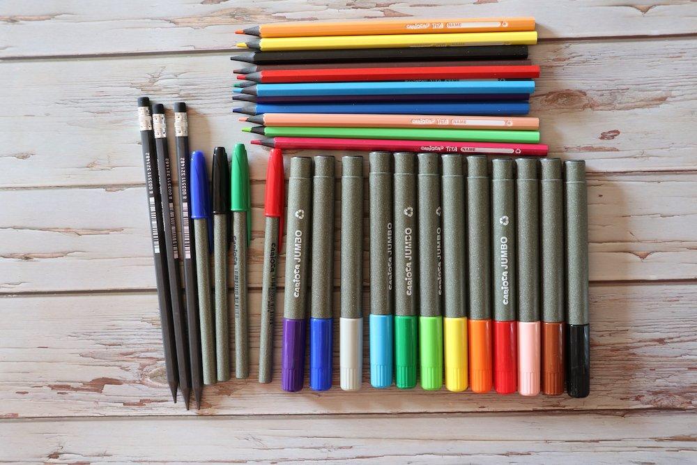 scuola sostenibilità carioca colori